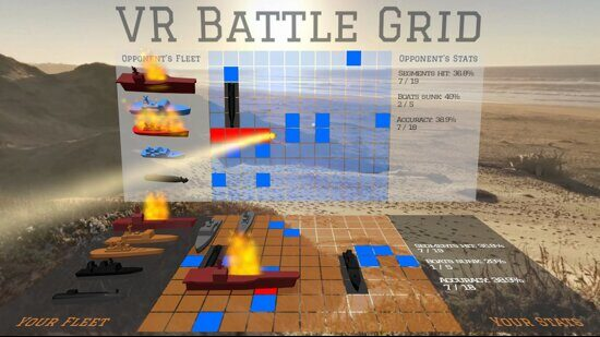 VR Battle Grid